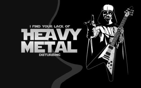 darth vader metal