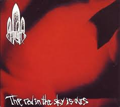the red in the sky