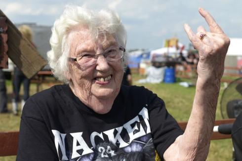 metal grandma